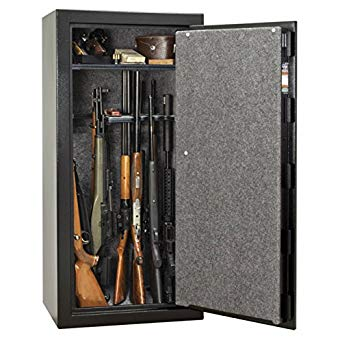 Gun-Safe-Steel-Black
