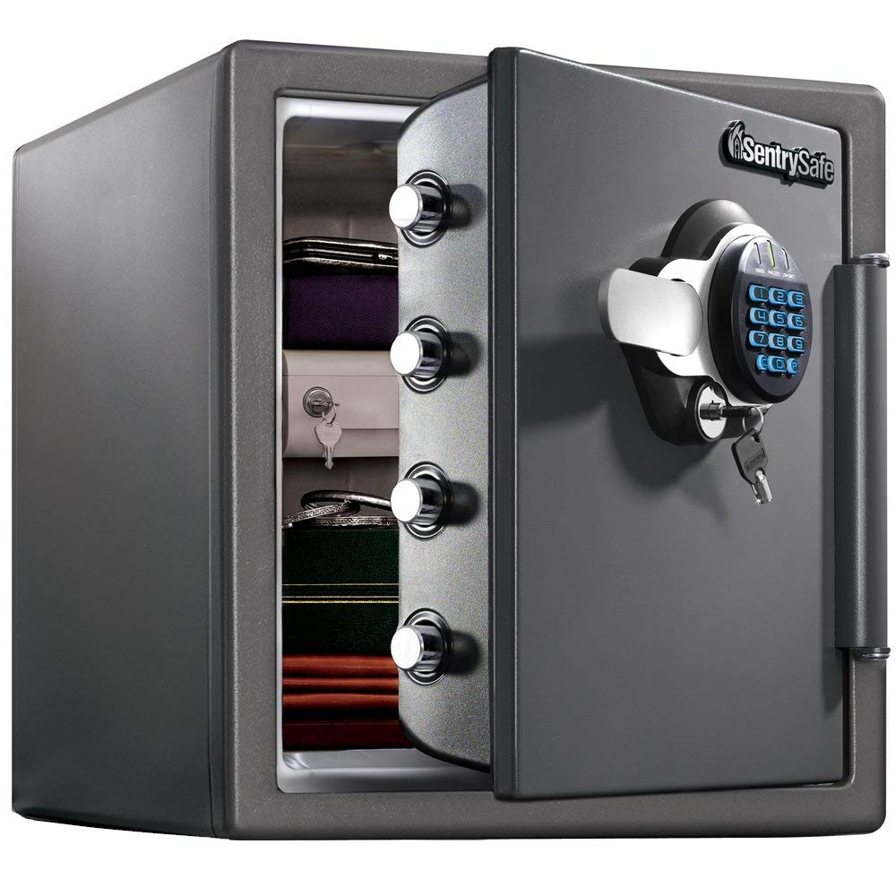 SentrySafe-SFW123GDC-Fireproof-Safe-and-Waterproof-Safe-with-Digital-Keypad-1-23-Cubic-Feet